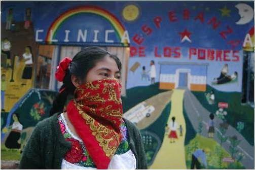 En cada una de las zonas zapatistas, es decir, de cada uno de los Caracoles, se han establecido planes de estudio y de trabajo en Equidad de Género. Foto: Cortesía