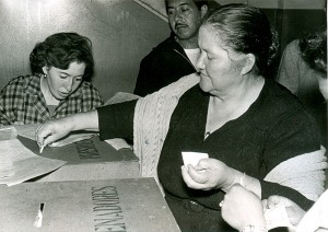 Hoy, se cumplen 60 años del voto femenino en México. En Chiapas el voto se otorgó desde 1925, antes que se diera a nivel federal.