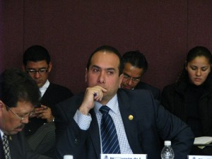 Hernán Orantes López ha recibido en todo momento el apoyo de la PGJE de Chiapas y de lois cuerpos policiacos estatales para defender sus intereses sobre los de los campesinos.