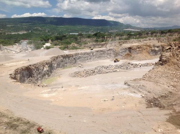 Aspecto de la afectación que la empresa Cales y Morteros del Grijalva ha ocasionado en la Reserva Cañón del Sumidero. Foto: Isaín Mandujano/Chiapas PARALELO