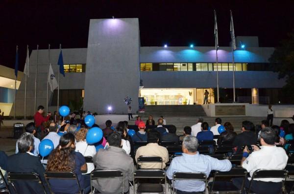 Biblioteca UNACH abre servicios en espacios nocturnos. Foto: Cortesía
