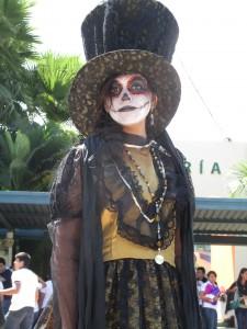 La catrina. Foto: Sandra de los Santos/ Chiapas PARALELO.