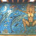 Obra del Maestro Rodolfo Disner en la biblioteca del Centro Cultural Jaime Sabines.