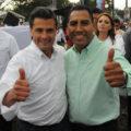 Eduardo Ramírez y Enrique Peña Nieto.
