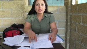 Ossiel Gómez Torres pidió a los magistrados del Poder Judicial del Estado solucionar el caso a su favor y es que dice que por una negligencia de una Ministerio Público no ha podido ver a su hija durante un año y ocho meses. Foto: Sandra de los Santos/ Chiapas PARALELO.