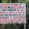 Habitantes de diversas comunidades se oponen a que autopista pase por sus tierras. Foto: Cortesía