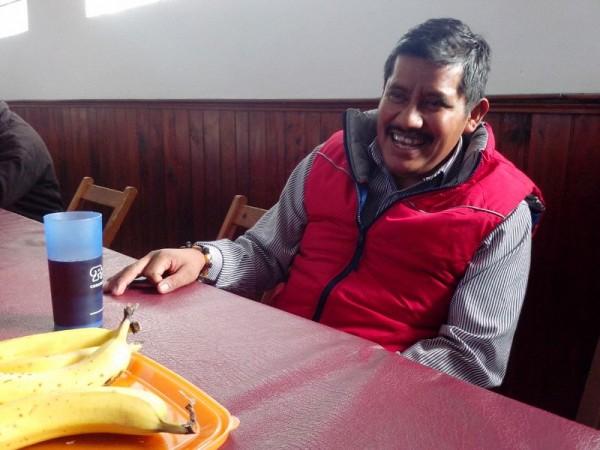 Patisthán en su regreso a Chiapas. Foto: Fredy Martín Pérez