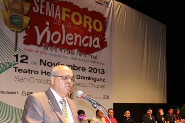 Buscan identificar las señales de violencia en las escuelas, durante el noviazgo y en el ámbito familiar. Foto: Amalia Avendaño