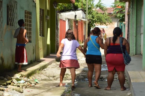 Trabajadoras sexuales piden protección ante amenaza de ex policías. Foto: Cesar Rodríguez/Chiapas PARALELO
