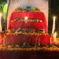 Ofrenda de muertos en Copainalá. Foto: Magdalena Morales/Chiapas PARALELO