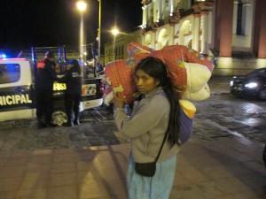 Mujeres de Chanal carecen de un lugar para vivir. Foto: Emiliano Hernández