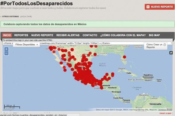 Las desapariciones y el reclutamiento forzado por parte de la delincuencia organizada, se extendió del norte, a los estados del sur de México.