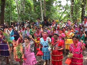 Mujeres zapatistas. Foto: Archivo Medios libres