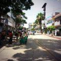 Maestros dejan el centro de la capital de Chiapas, donde permanecieron desde el pasado 28 de agosto. Foto: Leo Ruiz