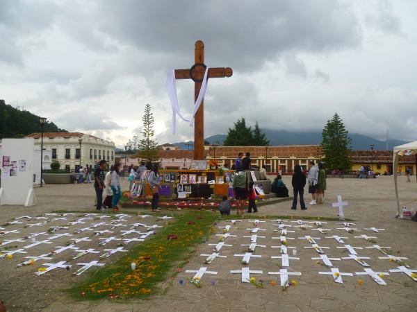 Cientos de mujeres han muerto de forma violenta en Chiapas. Foto: Amalia Avendaño