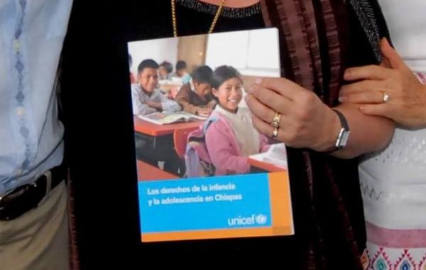 """La UNICEF presentó el jueves en Tuxtla, los resultados del estudio """"Los Derechos de la Infancia y la Adolescencia en Chiapas""""."""