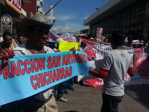 Campesinos denuncian presión para la compra de sus tierras. Foto: Benjamín Alfaro