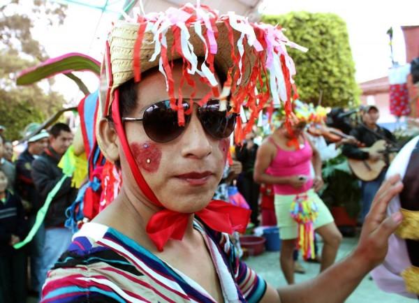 Danzante de Ixtacomitán, Comparsa de El Carnaval. Foto: Fermín Ledesma