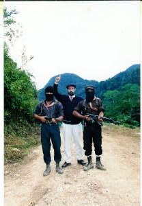 El español Nafia o Aureliano Pérez Yruela, cuando intentó hacer alianza con el EZLN. Foto: Cortesía