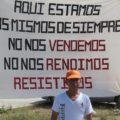 """Maestros de la Sección 40 ratifican su lucha de """"desobediencia magisterial"""" en contra de la reforma educativa. Foto Isaín Mandujano/Chiapas PARALELO"""
