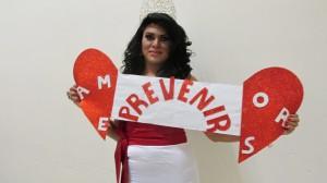"""Hace unos días se realizó una """"pasarela por la vida"""" para concientizar a la población transgénero y trasvesti de la importancia de prevenir la transmisión del VIH. Foto: Sandra de los Santos/ Chiapas PARALELO."""