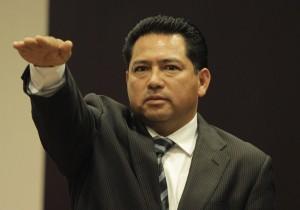 Jorge Manuel Pulido tomó protesta como auditor del estado. Foto: Cortesía/ Chiapas PARALELO.