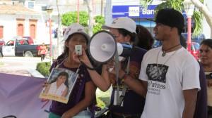 Lidia Diego pidió tanto al gobierno de Guatemala como el de México ayudar en la localización de su hija. Foto: Sandra de los Santos/ Chiapas PARALELO.