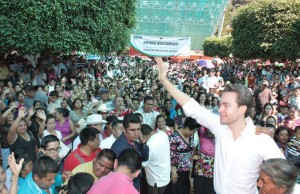 Manuel Velasco. Informe de gobierno