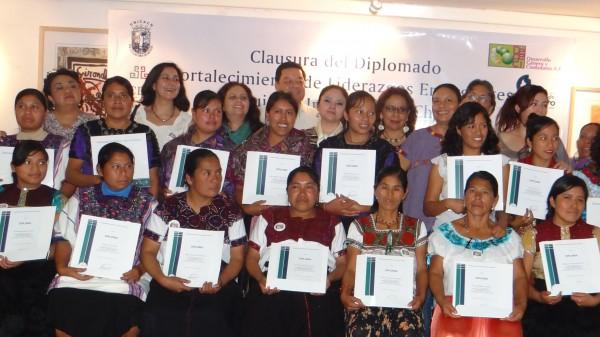 Liderazgo de mujeres en Chiapas. Foto: Cortesía