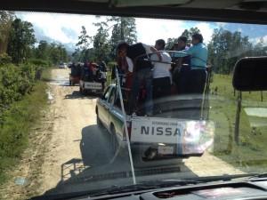 El lunes al medio día llegaron a su comunidad enclavado en el municipio de Altamirano los indígenas evangélicos. Foto cortesía/Chiapas PARALELO