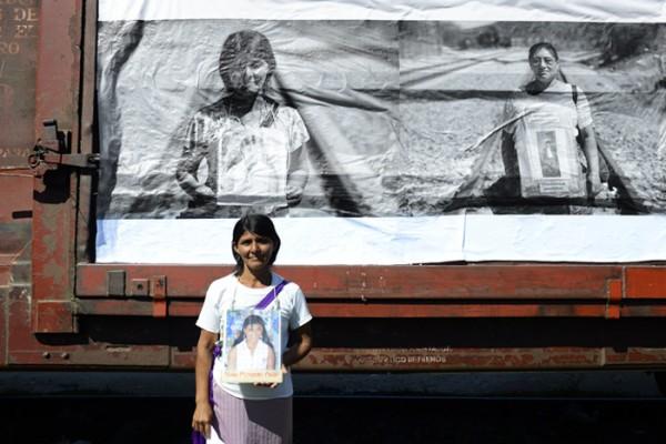 Ellas aún tienen esperanzas de que en el territorio chiapaneco puedan hallar por lo menos pistas de algunos más de sus desaparecidos. Foto: Cortesía