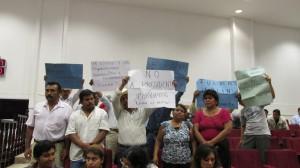 Habitantes del municipio de Parral exigen la destitución del alcalde de ese lugar. Foto: Sandra de los Santos/ Chiapas PARALELO.