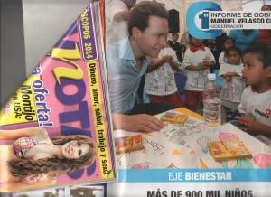 Manuel Velasco en TV Novelas