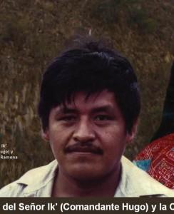 El Comandante Ik o Comandante Hugo, como se conocía a Francisco Gómez Hernández, fundador y mando del EZLN. Foto: Revista Rebeldía del EZLN.