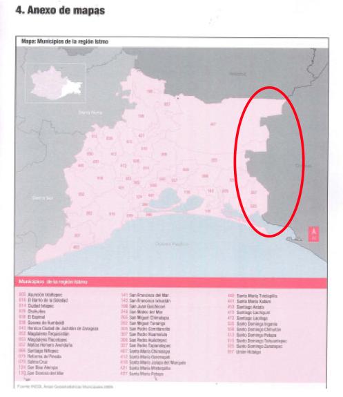 Cartografía de Los Chimalapas