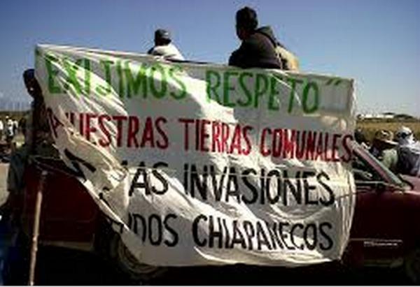 Habitantes de Los Chimalapas en la zona de Oaxaca demandan la propiedad del lugar. Foto: Cortesía