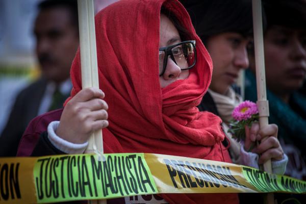 Justicia machista. Foto: CIMAC