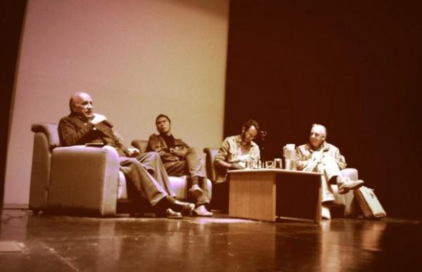 Conversatorio sobbre el zapatismo en Universidad Iberoamericana. Foto: Revoluciontrespuntocero