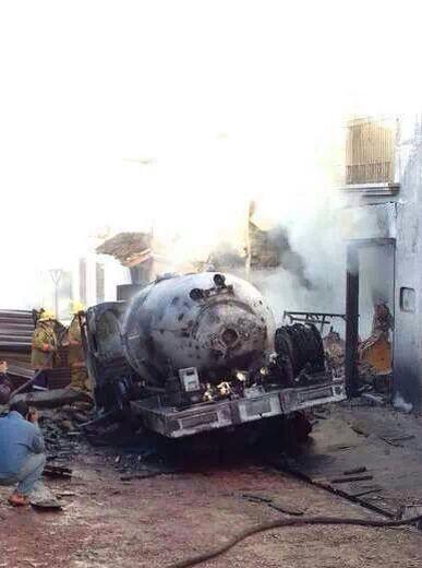 Cinco horas después, el incendio fue controlado. Foto: Fredy Martín Pérez