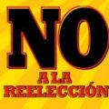 No a la reeleccion