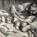 Ogros. Ilustración deTomado de elcastellano.org