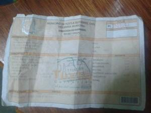 En el 2010 la familia pagó 165 pesos.