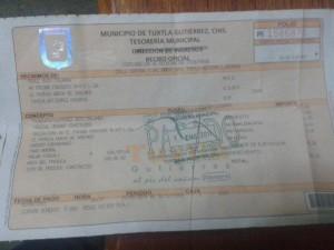 En el 2011 la familia pagó 182 pesos.