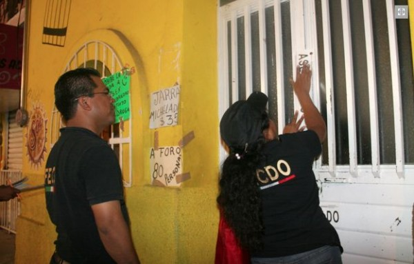 Procuraduría de Chiapas ha cerrado 201 bares y cantinas. Foto: Cortesía