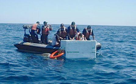 SEMAR rescata a náufragos originarios de Nicaragua. Foto: SEMAR