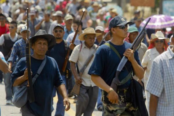 Ejército ciudadano. Foto: Red Política