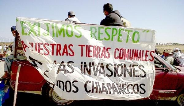 Sigue la disputa del territorio en Chimalapas. Foto: Página 3/Chiapas PARALELO