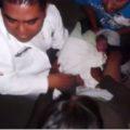 Momento del parto. Foto: Página 3/Chiapas PARALELO