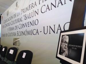 La librería llevará el nombre del escritor mexicano José Emilio Pacheco que falleció el domingo 26 en la Ciudad de México. Foto: Chiapas PARALELO