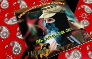 Uno de los dos discos que han grabado Los Originales de San Andrés.